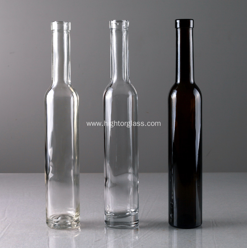 China 375ml glass ice wine bottles manufacturers for Red glass wine bottles suppliers