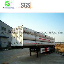 Almacenamiento de gas natural y transporte de semirremolques de cilindro de CNG