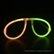 Gafas de neón resplandor