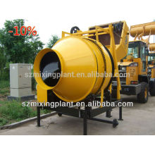 Electric mini mobile concrete mixer