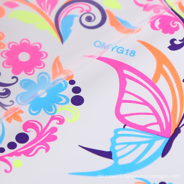 Floral Non-toxic Glow In The Dark Body Stickers Fluorescent Luminous Self Adhesive Body Temporary Tattoo Sticker