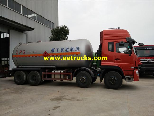 30 CBM LPG Gas Tanker Trucks