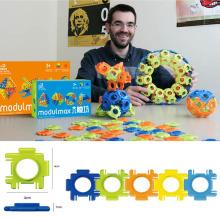 Modulmax ABS Blöcke DIY Spielzeug 60PCS 3D Bausteine Spielzeug (10274043)