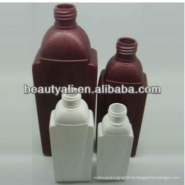 Botella de plástico PE única