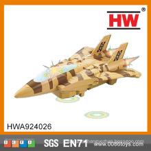 (Con siete luces, batería no incluida) La alta calidad embroma el pequeño avión plástico del juguete de BO
