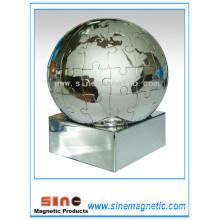 Metall magnetische Puzzle Globen Magnetische Geschenk