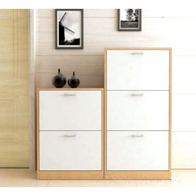 Wood Material Fashionable Shoe Cabinet