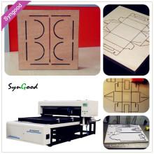 Laser Wood Cutting Machine 35m/hour Syngood SG1218 400W
