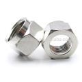 Sujetador de cinturón hexagonal de acero inoxidable con torno cnc de proveedor chino