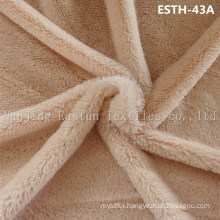 PV Plush/ Polyboa / Tricot Velboa / Warp Knit Boa Esth-43A