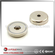 Neodymium Disc Magnet with a Countersunk Hole