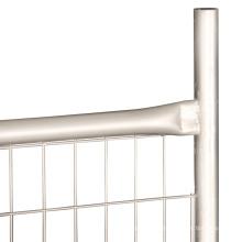 O móbil protege a cerca provisória galvanizada do painel da cerca