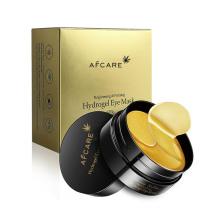 24K Gold Collagen Gel Eye Treatment Mask for Dry Eyes Anti Wrinkle Eye Mask Moisturizing Brightening Anti Aging Anti Wrinkle Lash Extension Eye Mask