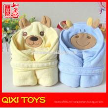 детское одеяло чучела животных плюшевые детское одеяло