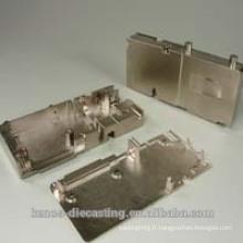 L'OEM professionnel a personnalisé des pièces de moulage mécanique sous pression en aluminium pour le logement électronique