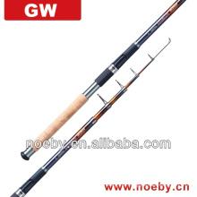 Vara de pesca telescópica modelo NOVA de alta qualidade