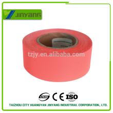 rojo de seguridad coser cinta reflectante