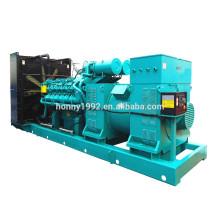60Hz 13.8kV Hochspannung 1500kW Googol Motor Diesel Generator zum Verkauf