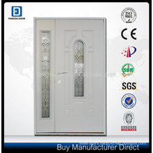 Primed White Polystyrene Insulated Unequal Double Door
