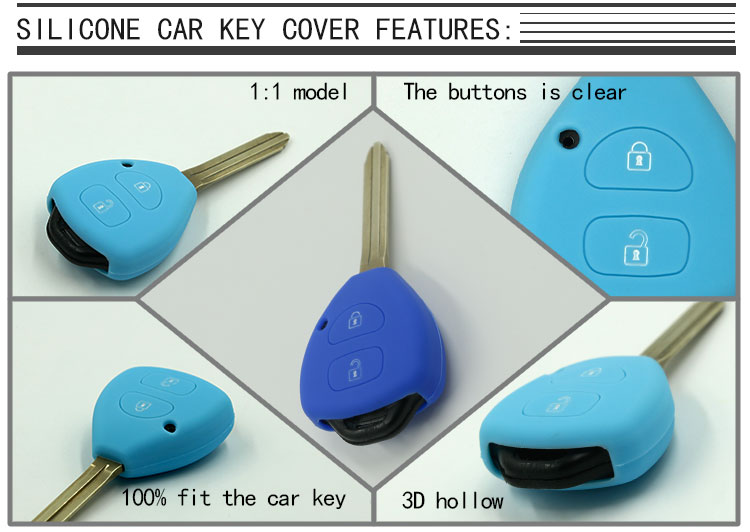 Toyota Car Key Fob Case