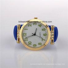 2017 Damenmode Silikon Uhren Vergoldetem Fall