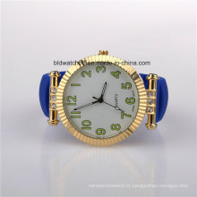 2017 dames en silicone de mode montres cas plaqué or