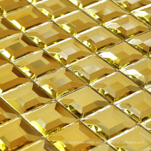 Mosaico de mosaico de oro Mosaico de espejo de diamante (HD043)