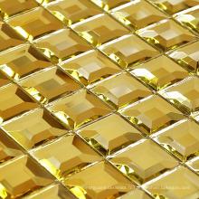 Mosaïque en mousse à miroir en or Mosaïque en or (HD043)