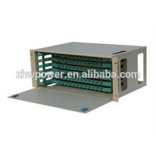 ODF fiber terminal box , 12 ports, sliding drawer type 19 inch 12 port fiber optic patch panel