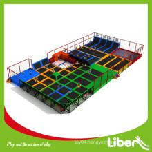 Safe children trampoline sport