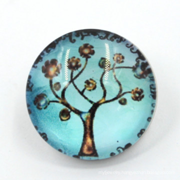 18mm Fashion Ornamented Metal Alloy Resin Snap Button