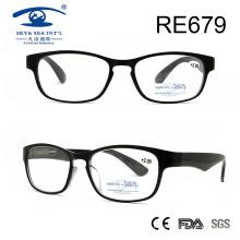 Óculos de leitura de plástico personalizados mais recentes (RE679)