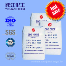 Indirectos 99,7 óxido de zinc ZnO