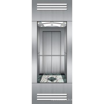 Mrl Panoramic Elevator Running Stable OEM fourni sans salle de machines