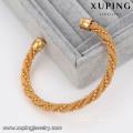 51459 Xuping Cuivre Sexe Bracelet Mode Réglable Twist Manchette Bracelets