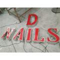 High Qualität wasserdicht LED Acryl Brief Werbung Schild Store Werbebriefe