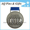 Wholesale Sports Medals with Antique Silver Plating