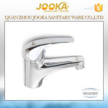 Deck mounted single lever washbasin mixer