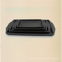 Plancha de hierro para hornear Tamaño del plato