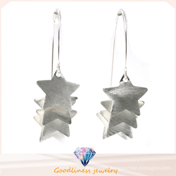 Wholesale Fashion Jewelry Earring for Woman Ear Studs Star 18k Gold Plated 925 Sterling Silver Earrings (E6581)