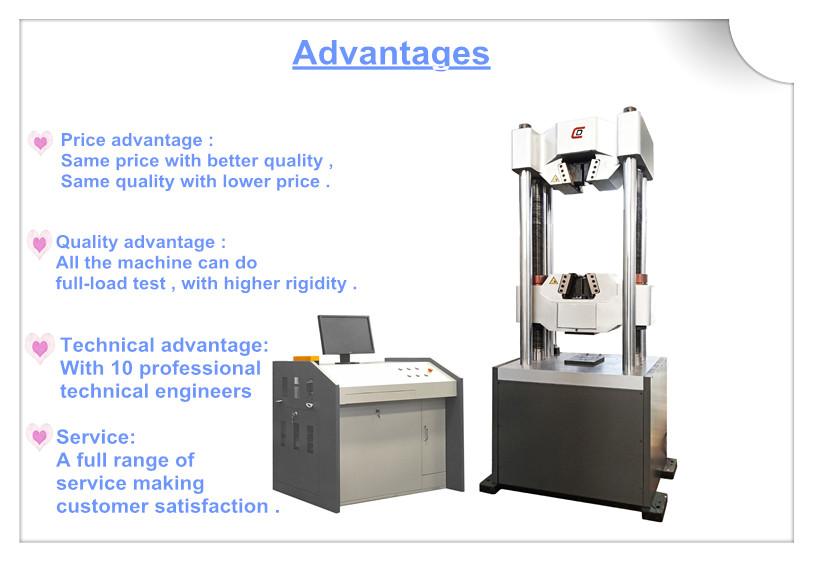 WAW-1000E Hydraulic UTM