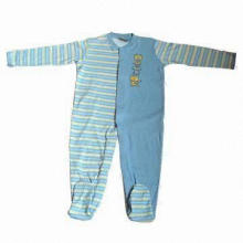 Baby Romper Suit, Cute Design, Customized Colors and Patterns Welcomed