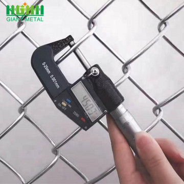 Home Building Used Galvanized Chain Link Fence