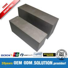 Más de 99.95% fabricante de bloque de tungsteno de alta calidad