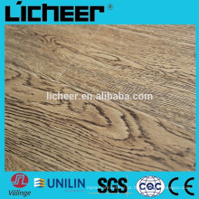 Indoor Laminate flooring EIR superfície fabricantes China imitated piso de madeira / clique fácil laminado piso