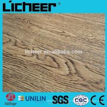 Крытый Ламинированные полы EIR поверхность производителей Китай имитировал деревянный настил / легкий клик ламинат пол