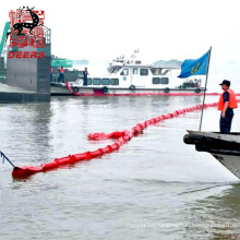 Eco friendly oil spilling silt curtain containment boom