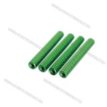 Vente chaude M3 en aluminium moleté standoff coloré10mm, 15mm, 20mm, 25mm, 30mm, 35mm, 37mm, 38mm, 40mm prix de gros