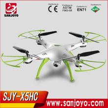 Syma X5HC 2MP HD Cámara Drone 2.4G 4CH 6 ejes Gyro sin cabeza Quadcopter con Barómetro Set altura
