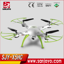 Syma X5HC 2MP HD Camera Drone 2.4G 4CH 6Axis Gyro Headless Quadcopter with Barometer Set Height